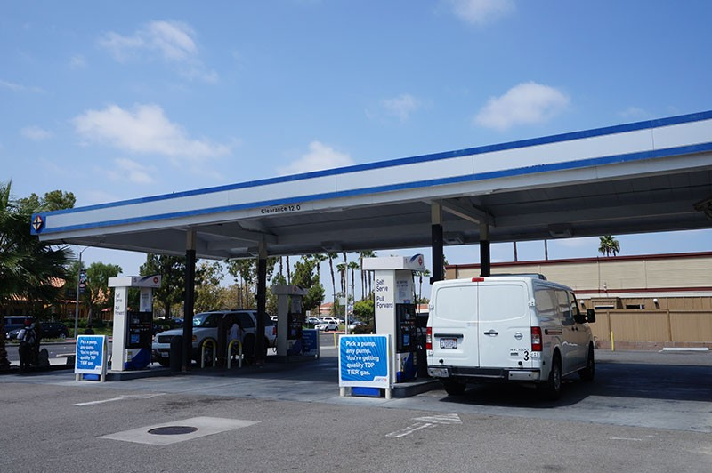 MEP design in Riverside, Fountain Valley, Escondido, Orange, Pomona gas station